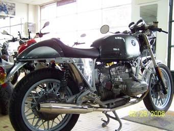 Custom BMW préparé par JMB Concept Moto