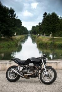 Café Racer Moto Guzzi / © Pascal Baudry