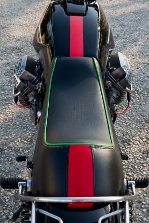 Selle sur mesure, préparation JMB Concept Moto © Pascal Baudry