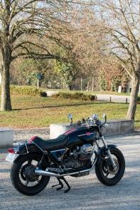 Préparation Moto Guzzi par JMB Concept Moto © Pascal Baudry