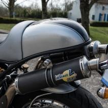Café Racer sur base V11 Moto Guzzi Préparation JMB Concept Moto / © Pascal Baudry