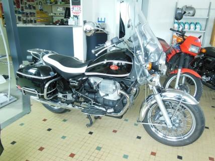 california vintage moto guzzi